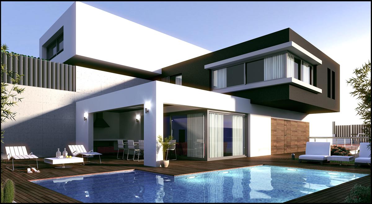 Casas en san francisco de macoris a buen precio for Viviendas estilo minimalista
